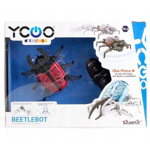 Latający chrząszcz Silverlit S88555 robot Beerlebot czerwono czarny
