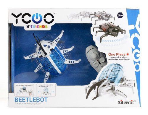 Latający chrząszcz Silverlit S8855 robot Beerlebot biały