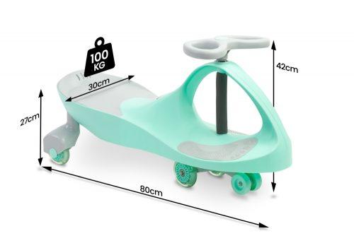 Jeździk grawitacyjny Spinner Toyz miętowy