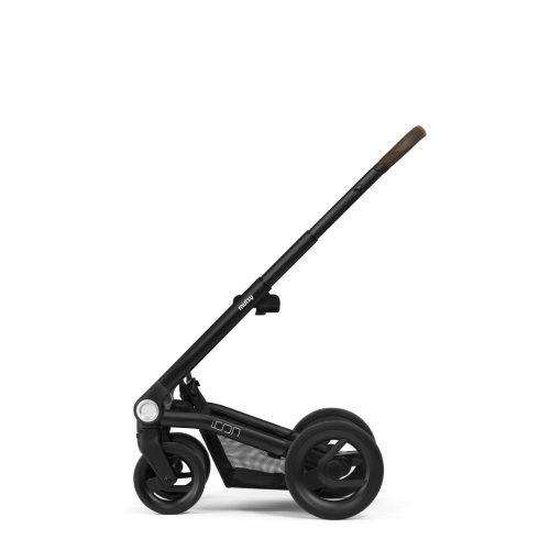 Stelaż wózka głęboko spacerowego Mutsy Icon kolor Black Brown
