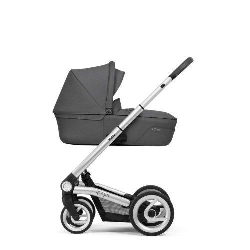 Wózek głęboko spacerowy Mutsy Icon zestaw 2w1 kolor Vision Titanium Grey, rama Standard Grey