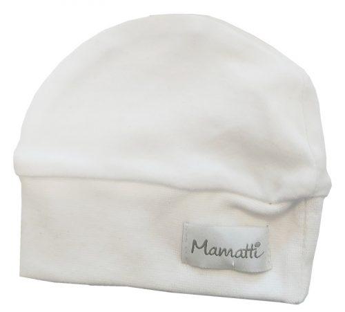 Mamatti Czapka niemowlęca 34 biała