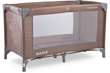 Turystyczne łóżeczko dziecięce 120x60 Bassic Caretero