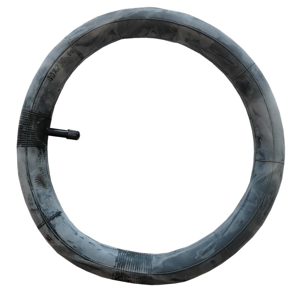 Opona z dętką z zakrzywionym wentylem tylne koło  do wózków dziecięcych