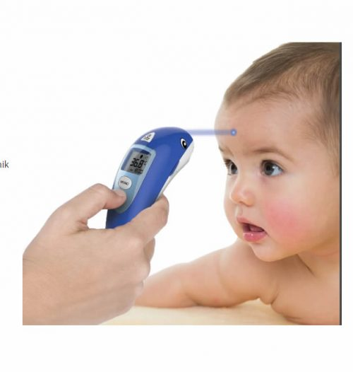 Termometr do ucha i czoła bezdotykowy Microlife Nc 400