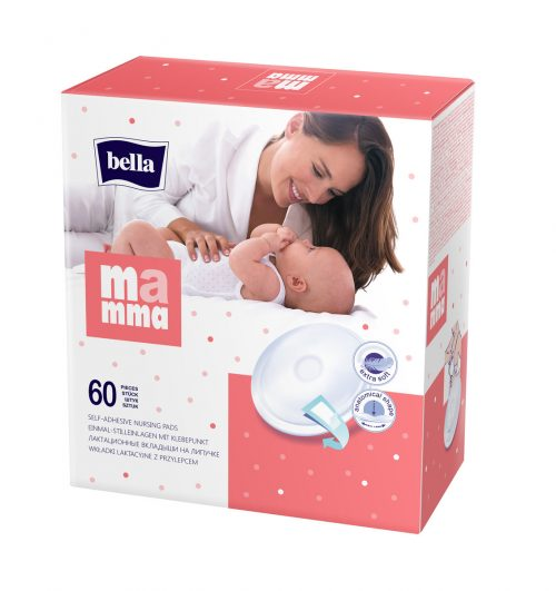 Oddychające wkładki laktacyjne Bella Mamma 60 szt Economy