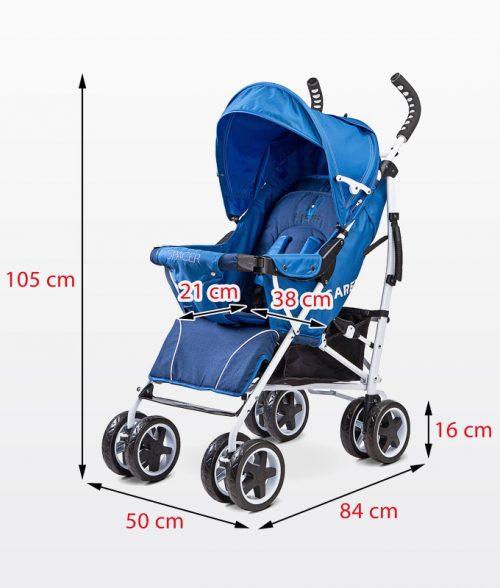 Wózek spacerowy Spacer Caretero Beżowy