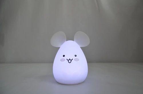 Innogio silikonowa lampka nocna Mause 7 kolorów