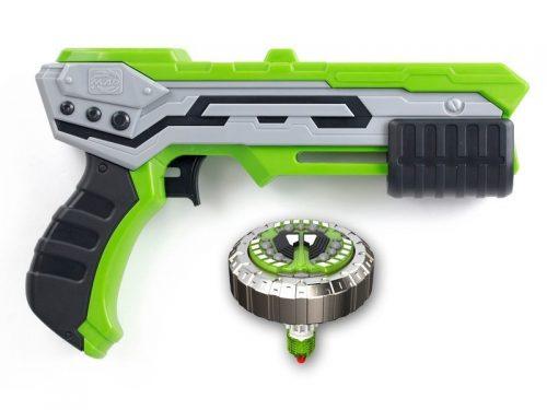 Sliverlit S86300 Blaster z pociskiem - metalowym spinnerem single shot blaste thunder