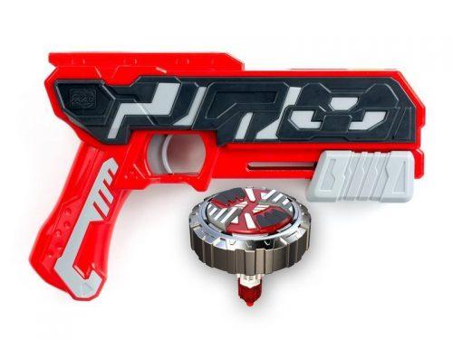 Sliverlit S86300 Blaster z pociskiem - metalowym spinnerem single shot blaster firestorm