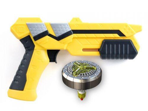 Sliverlit S86300 Blaster z pociskiem - metalowym spinnerem single shot blaste sandstorm