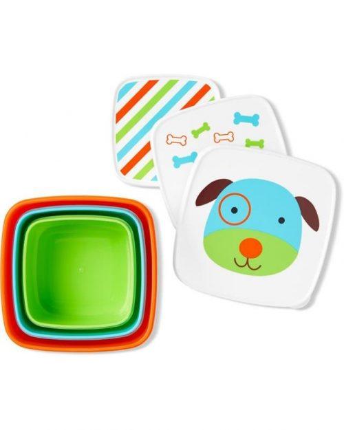 Pudełko na śniadanie Lunchbox Skip Hop Pies