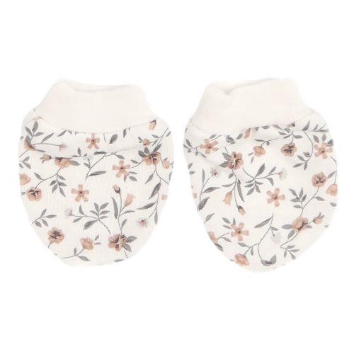 Mamatti rękawiczki dla niemowląt niedrapki Łączka