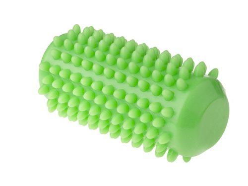 Wałek sensowyczny do masażu i rehabilitacji 12,8 cm Tullo zielony