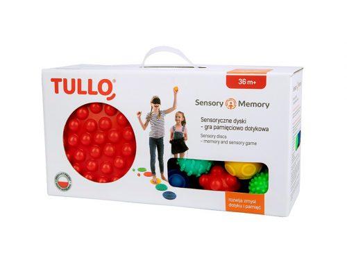 Memory sensoryczne gra pamieciowa dyski Tullo