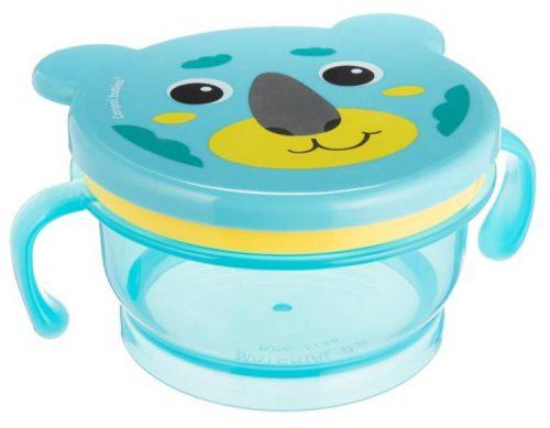 Pojemnik kubek niewysypek na przekąski dla dzieci Hello Little
