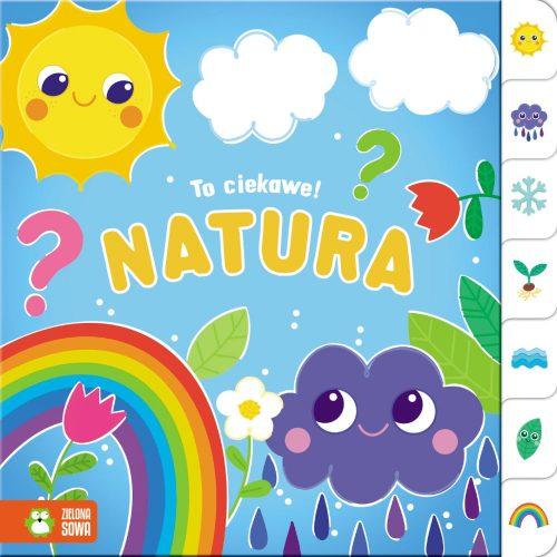 Zielona Sowa ksiązeczka dla dziecka ciekawa natura