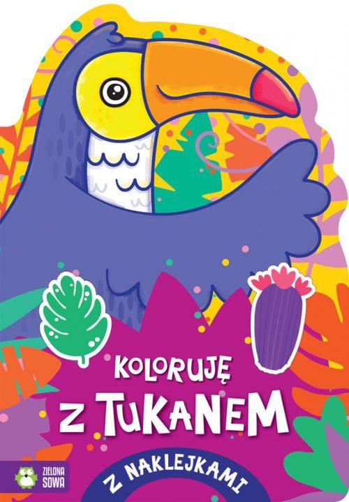 Kolorowanka dla dzieci koloruję z Tukanem