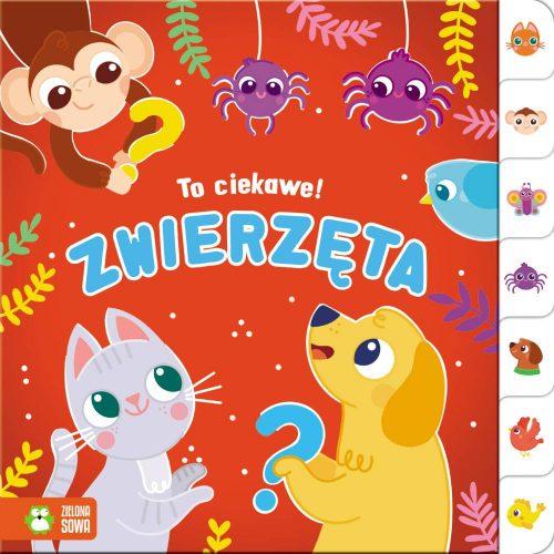 Książeczki dla dzieci ciekawe zwierzęta Zielona Sowa