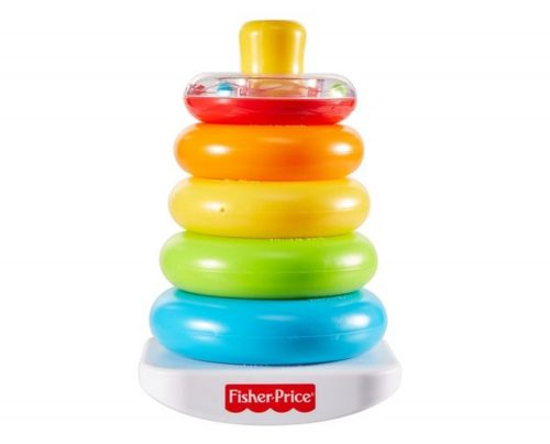 Piramidka FIsher Price GDK51 piramidka z kółek 6m+