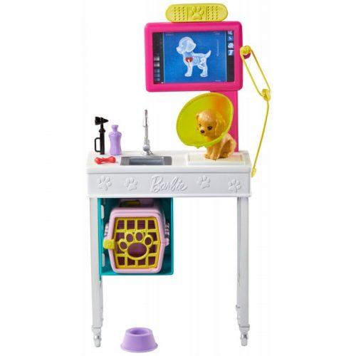 Zestaw mebli dla lalki Barbie weterynarz GJL68