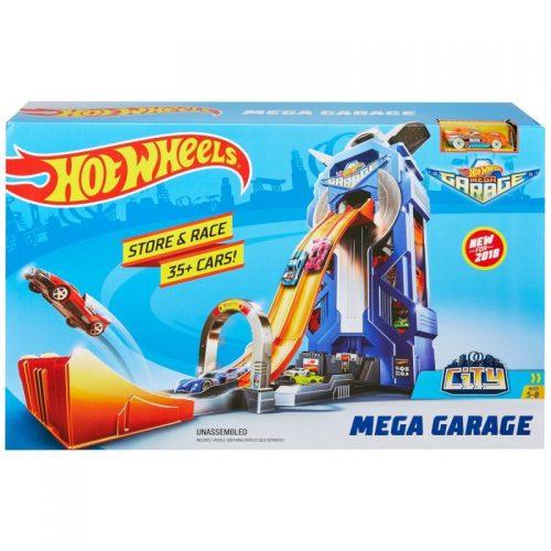Tor Hot Wheels rajdowy mega garaż FTB68