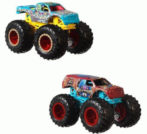 Hot Wheeles Monster Truck 2 szt Raijyu + Kovmorj