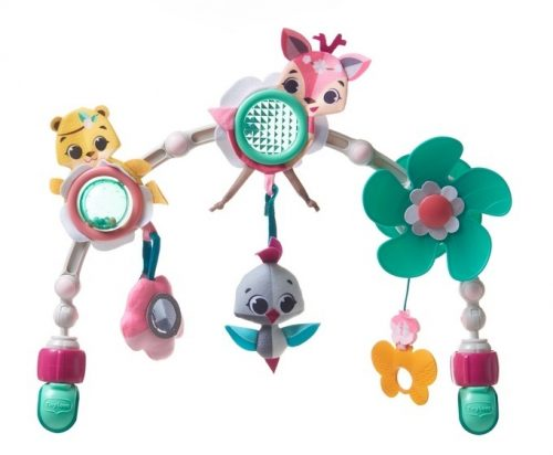 Łuk z zabawkami do wózka, fotelika Świat małej księżniczki - Tiny Love