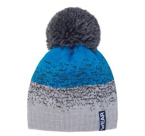 Zimowa czapka dla dziecka z pomponem 50-52
