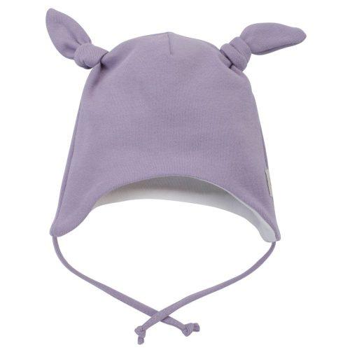 Pinokio My Garden czapka niemowlęca wiązana 56 Fiolet