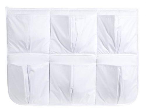 Przybornik uniwersalny do łóżeczka Albero Mio, Klupś Biały