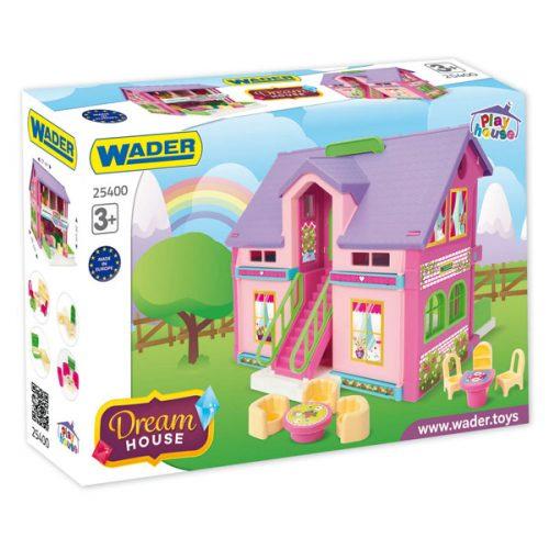 Śliczny domek dla lalek Play Hause  Zabawki Wader 25400