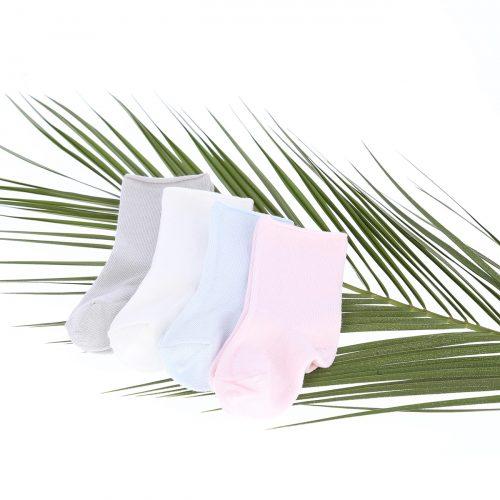 Skarpetki z bawełny organicznej Yosoy szare