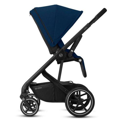 Cybex Balios S LUX wózek spacerowy kolor Soho Grey rama Czarna