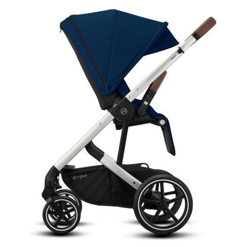 Cybex Balios S LUX wózek spacerowy kolor Soho Grey rama Srebrna