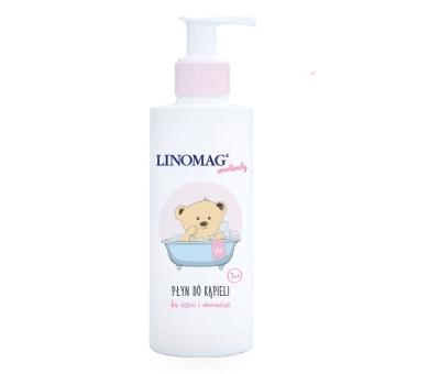 Płyn do kąpieli niemowląt i dzieci 7m+ 400ml Linomag