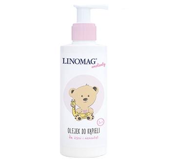 Olejek do kąpieli niemowląt i dzieci 1m+ 400ml Linomag