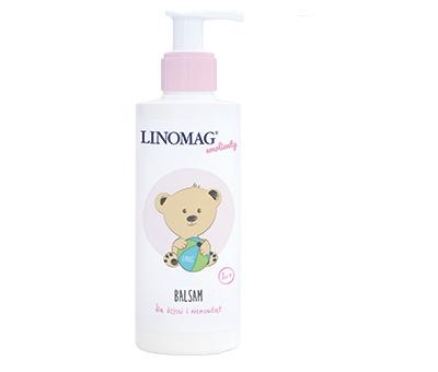 Balsam dla niemowląt i dzieci Linomag 1m+ 200ml