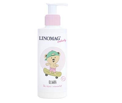 Oliwka dla niemowląt i dzieci Linomag 200ml 0m+ od urodzenia