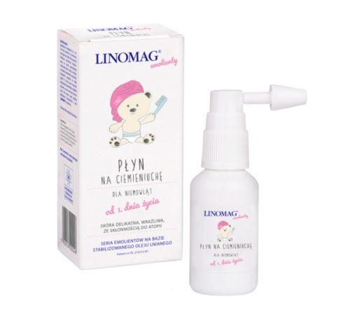 Płyn na ciemieniuchę od urodzenia pielęgnacia ciemieniuszki 30ml Linomag