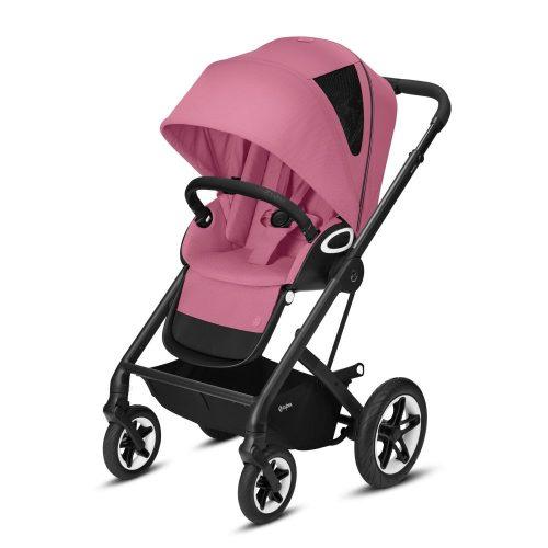 Wózek spacerowy Cybex Talos S LUX kolor Magnolia Pink rama Czarna
