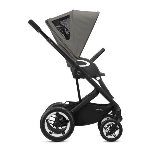Wózek spacerowy Cybex Talos S LUX kolor Soho Grey rama Czarna