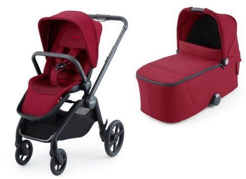 Wózek głęboko spacerowy Recaro Celona zestaw 2w1 kolor Select Garnet Red