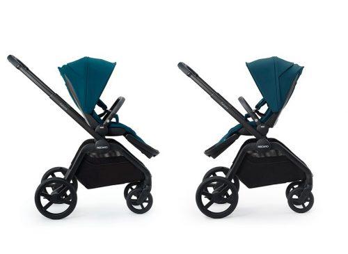 Luksusowy wózek spacerowy do 22 kg z przekładanym siedzieskiem kolor Prime Sky Blue