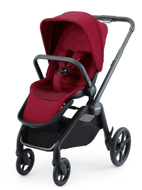 Luksusowy wózek spacerowy Recaro Celona kolor Garnet Red