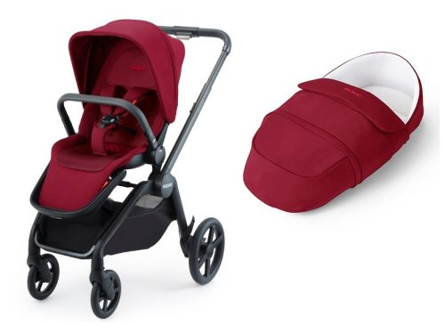 Recaro wózek głęboko spacerowy Celona z lekką gondolą do 22 kg kolor Select Garnet Red