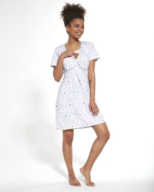 Koszula dla kobiet karmiących Cornette Swan rozmiar S