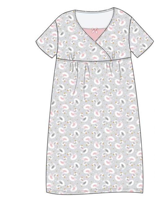 Koszula dla kobiet karmiących Cornette Swan rozmiar M