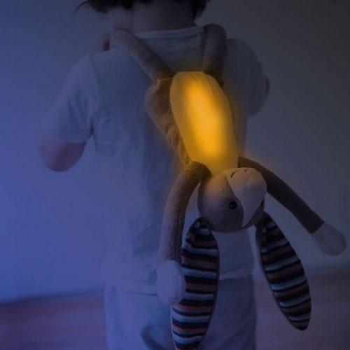 Lampka nocna przytulanka pluszak ZaZo Bo