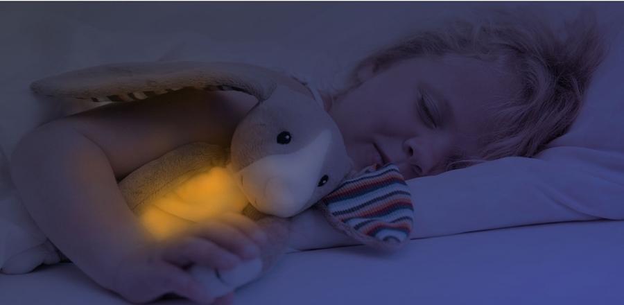 Lampka nocna pluszak muzyczna lampka Zazu małpka Max